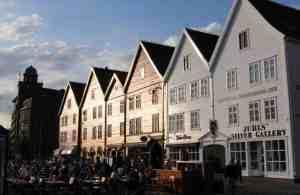 Bergen historique